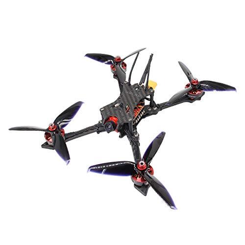 HGLRC Batman220 220mm FPV Racing Drone Airbus F4 Flight Controller 2306 2450KV Brushless Motor 5mm Carbon Fiber Frame Kit Forward VTX Video Transmitter Aurora Camera Quadcopter Frsky XM+ Receiver from HGLRC