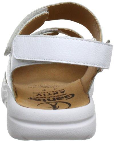 02000 Sandales Weiss Ganter 202321 Blanc femme 0200 5 qgxExnp