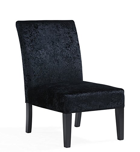 Marvelous Unmatchable Slipper Chair Crushed Velvet Or Linen Style Fabric Chair Office Living Dining Low Slung Black Crushed Velvet Andrewgaddart Wooden Chair Designs For Living Room Andrewgaddartcom