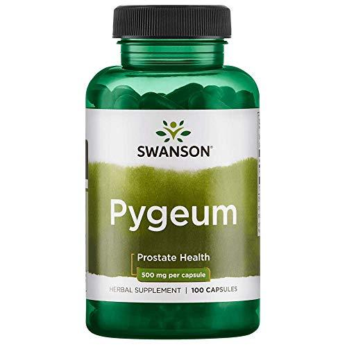 - Swanson Pygeum 500 Milligrams 100 Capsules