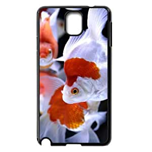 Custom Cover Case with Hard Shell Protection for Samsung Galaxy Note 3 N9000 case with Goldfish lxa#985684