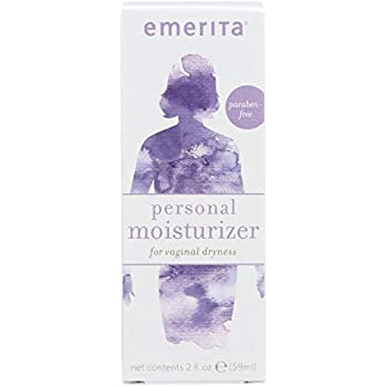 Emerita Personal Moisturizer | Intimate Skin Care for Vaginal Dryness | Water Based with Calendula & Vitamin E | Estrogen & Paraben Free | 2 fl oz