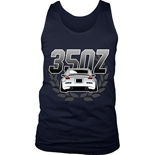 Nissan 350Z Fairlady JDM Lowered Camber Tank Top Navy
