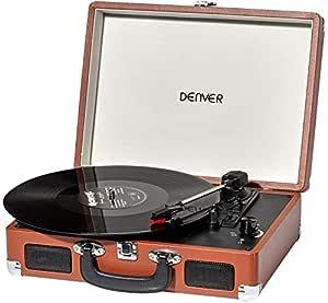 Reproductor de grabación retro de Denver VPL-120. Brown UK