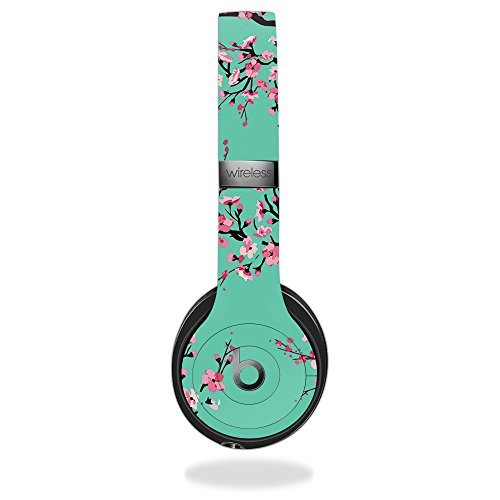 MightySkins Skin For Beats by Dr. Dre Solo 3 Wireless - Cherry Blossom Tree | Protective, Durable, and Unique Vinyl Decal wrap cover | Easy To Apply, Remove, and Change Styles | Made in the USA by MightySkins
