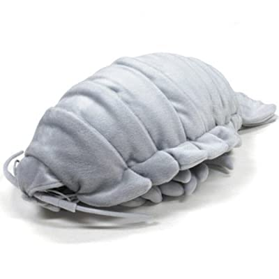 TSTADVANCE Sea Creature Giant Isopod Realistic Stuffed Plush Doll (XL Size) / 55 cm: Toys & Games