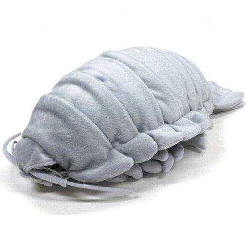 TSTADVANCE Sea Creature Giant Isopod Realistic Stuffed Plush Doll (XL Size) / 55 cm (Color: Xl Size / 55 Cm, Tamaño: 21.7 inches)