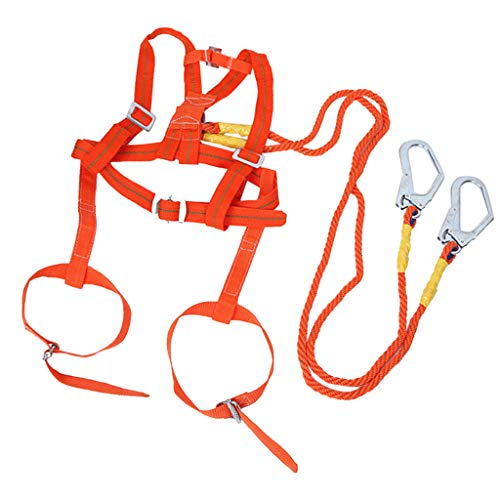 kesoto 2m/6.6ft Safety Harness Industrial Full Body Fall Protection Personal Equipment Construction Carpenter Scaffolding Contractor