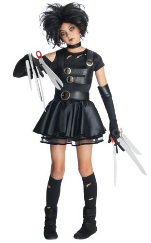 [Miss Scissorhands Costume - Medium] (Edward Scissorhands Womens Halloween Costume)