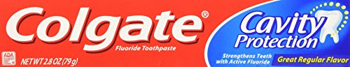 Colgate Cavity Protection Toothpaste Regular