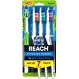 Reach Advanced Design Toothbrushes, Soft, 7 count