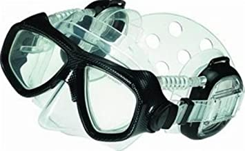 1ad44451fa Image Unavailable. Image not available for. Colour  Pro Ear Scuba Diving  Mask for all around ...