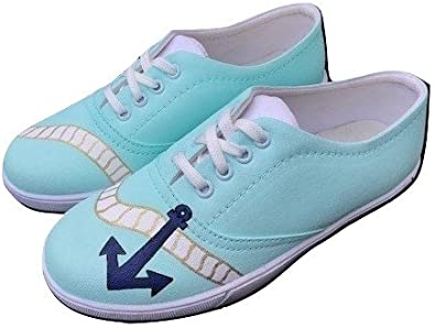 TRENDY Women's Handpainted Canvas Shoes
