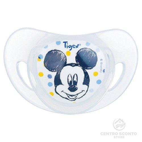 Tigex chupetes de silicona Disney Mickey 6 - 18 meses 2 unidades ...
