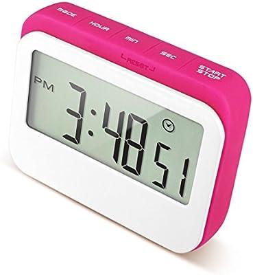 Compra Caoku - Reloj digital de cocina con temporizador de cuenta ...