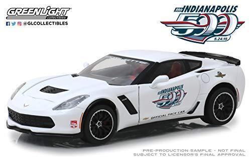Greenlight 18252 1: 24 2015 Indianapolis 500 Pace Car - 2015 Chevrolet Corvette Z06