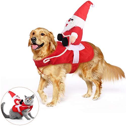 🥇 KATELUO Disfraz Gato de Navidad