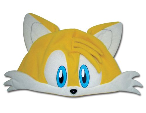 Great Eastern Sonic the Hedgehog Series: Tails Fleece Cap - Tails Sonic Costume