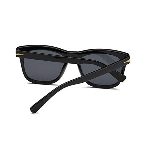 Aoligei Couleurs film Dame couleur lumineuse réfléchissant lunettes de soleil lunettes de soleil lunettes de soleil mode 8bSxF