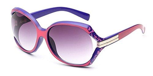 Lunettes Bras Rainurée Design Violette Pour Monture Rouge Soleil De Femmes Et Large Mode rw8RrqZ