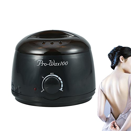 Wax Warmer, 500ML Hair Removal 100-240V Hot Paraffin Wax Pot Warmer Heater Waxing Hair Depilatory US (Dual Gig Desktop)
