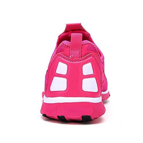 Eagsouni Womens Quick Drying Aqua Water Slip On Walking Shoes Hot Pink i5As4UJq2