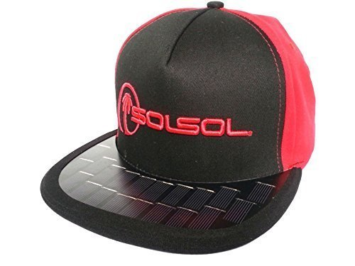 d137a522cf2 SOLSOL Solar Hat Charger That Charges   Extends The Battery Life of Your Cell  Phones