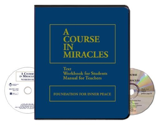 A Course in Miracles (59 Compact Discs & Writable PDF Workbook)