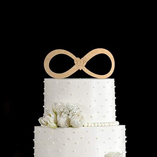 DWYHH Infinity Symbolinfinity Symbol Cake Topperinfinity Wedding Cake Topperinfinity Cake Topperunique Wedding Cake Topperwedding Topper