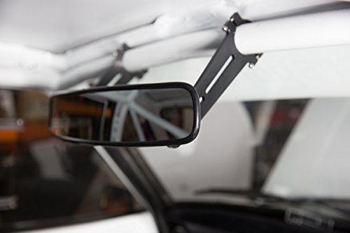 Motamec Racing 13 Wide Angle Rear View Mirror Universal Race Car Mirror Only