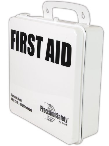 Magid FAKGP 85 Piece Precision Safety ANSI-Plus General Purpose First Aid Kit with Plastic Case