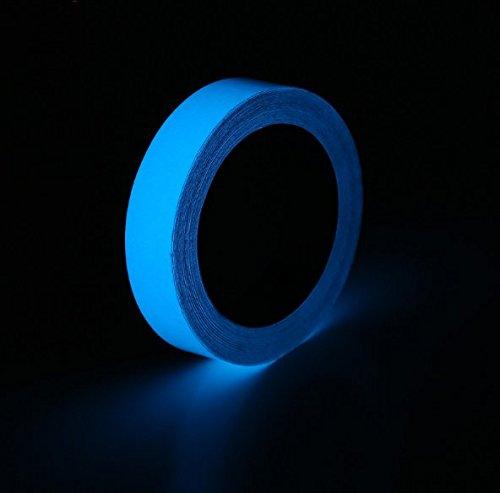 mitef calcomanía cinta luminosa impermeable extraíble fotoluminiscente brilla en la oscuridad cinta calcomanía tamaños y...