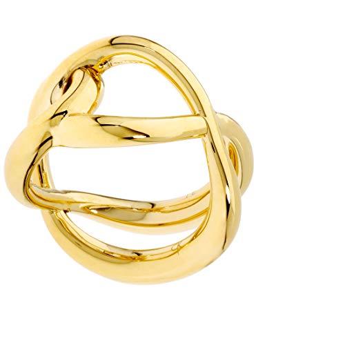 Calvin Klein Enlace Gold Size 6 Ring KJ44CR020106 from Calvin Klein