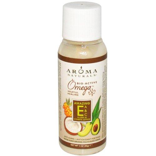 Aroma Naturals, Vitamin E Lotion, Amazing E, A & C, 1 oz (30 g)