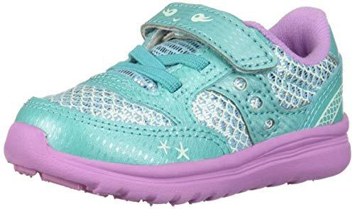 Saucony Girls' Baby Jazz Lite Sneaker Turquoise/Mermaid 040 Medium US -