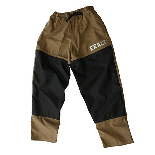 Exalt Paintball Throwback Paintball Pants - Tan - Medium (Paintball Professional Pants)