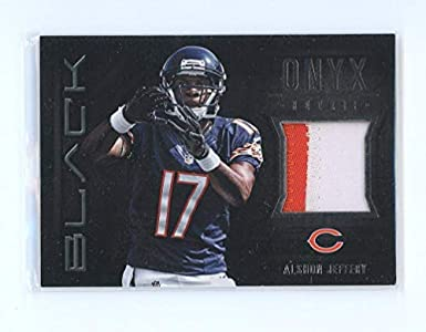 2012 Panini Black Onyx Rookie Materials Prime Jersey #35 Alshon  for sale