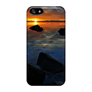 New Iphone 5/5s Case Cover Casing(peaceful End Of A Day)