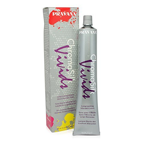 Pravana Silk Vivids Pink 3 oz by Pravana