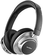 Soundcore Space NC Bluetooth hoofdtelefoon van Anker, met ruisonderdrukking, Touch Control, 20 uur batterijduur, voor reizen, kantoor, thuis en nog veel meer