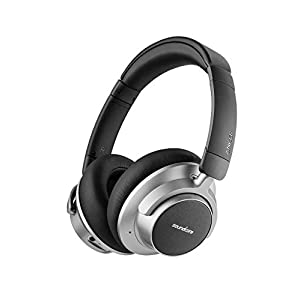 Wireless Noise Canceling Headphones, Soundcore Space NC by Anker with Touch Control, Hybrid-Active Noise Cancellation, 20-Hour Playtime, Bluetooth 4.1, Foldable Design for Travel, Work, and Home