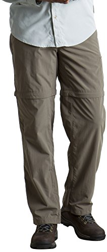 Shorts Hiking Ex Officio (ExOfficio Men's BugsAway Sol Cool Ampario Convertible Hiking Pants, Short, Falcon, Size 36)