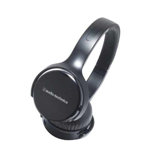 Audio Technica Sonic Fuel ATHOX5BK On-Ear Headphones, Black by Audio-Technica