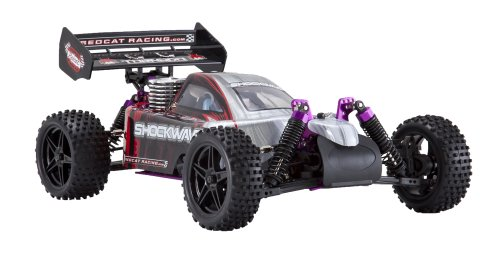 Redcat Racing Nitro Shockwave Buggy with 2.4GHz Radio (1/10 Scale), Red