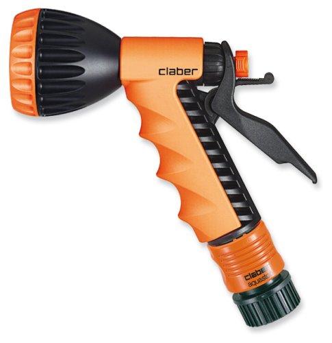 Claber 8541 Trigger Action Fan Spray Garden Hose Nozzle