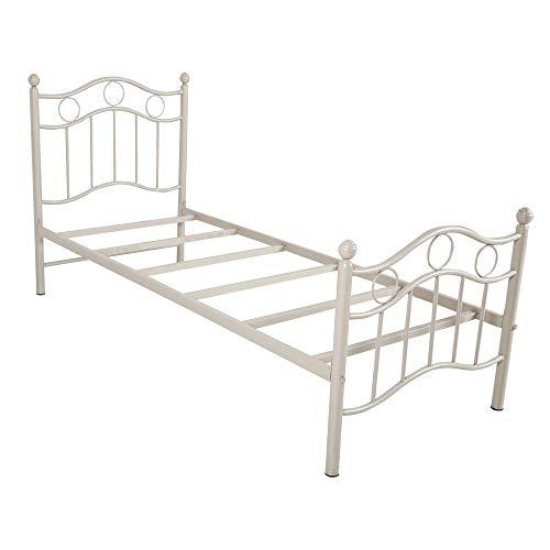Oliver Furniture King Size Metal Bed  Black