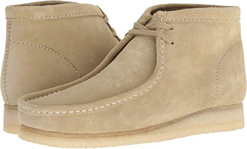 CLARKS Men's Wallabee Boot Fashion, Maple Suede, 80 M US (Mens Maple Boots)