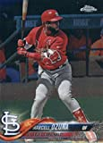 2018 Topps Chrome #149 Marcell Ozuna St. Louis Cardinals Baseball Card - GOTBASEBALLCARDS