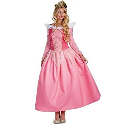 [Halloween Dress Christmas Costume Princess Candy Pink with Crown For Cinderella] (Adult Egyptian Prince Costumes)