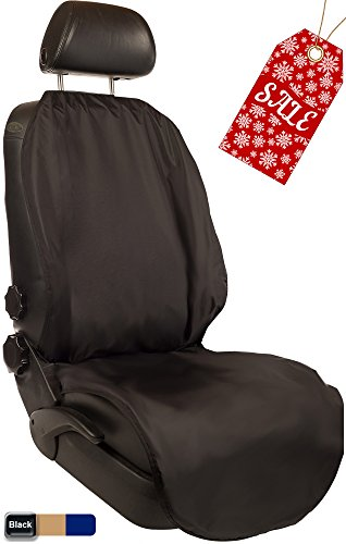 Seat Resistant (CleanRide&Trade;: Bacteria-Resistant, 100% Waterproof Car Seat Cover and Protector: Triathlon Beach Yoga Running Crossfit Sweat Workout (Odor-Resistant and Super-Compact))